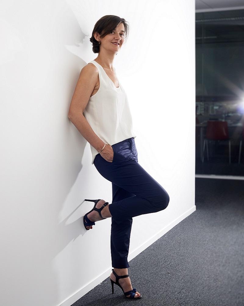 Agathe Bousquet, nouvelle présidente du groupe Publicis   Photo : Manuel Braun