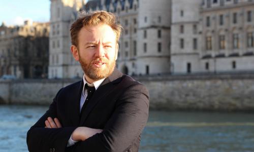 Portrait d'Antoine Vey, avocat pénaliste, associé d'Éric Dupond-Moretti   Photo : Elisabetta Lamanuzzi