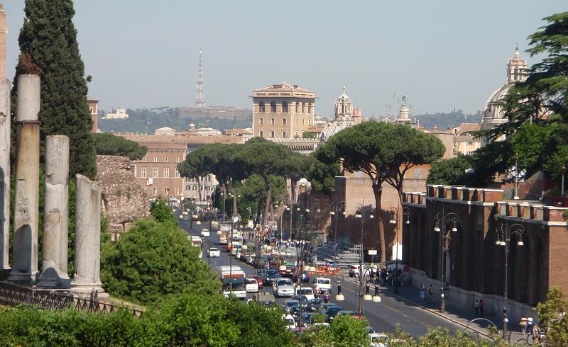 La Via dei Fiori à Rome (Crédit : CC)