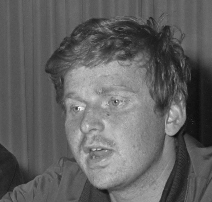Daniel Cohn-Bendit en 1968 (Crédit photo : Jac de Nijs / Anefo)