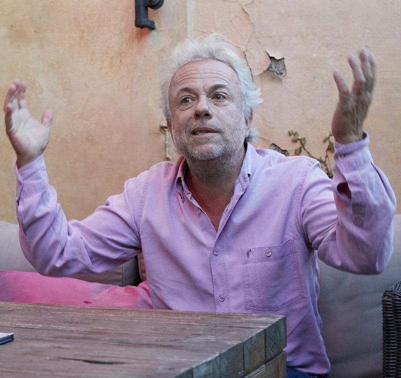 Frédéric Lenoir (crédits : Aglaé Bory)