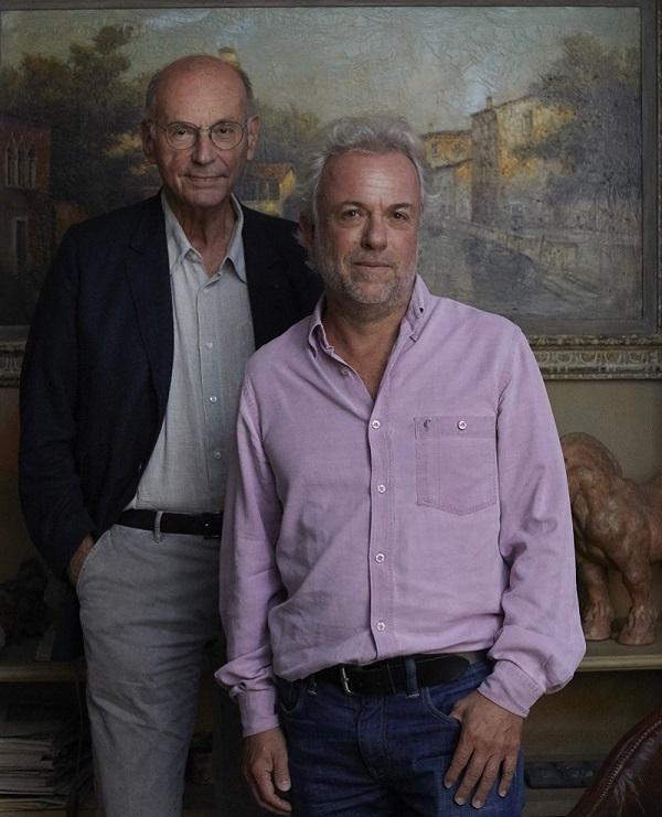 Boris Cyrulnik et Frédéric Lenoir (crédits : Aglaé Bory)