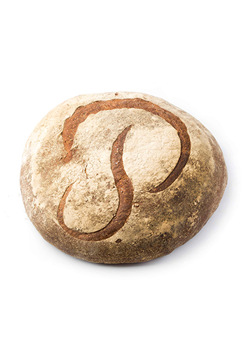 Une miche de pain Poilâne.