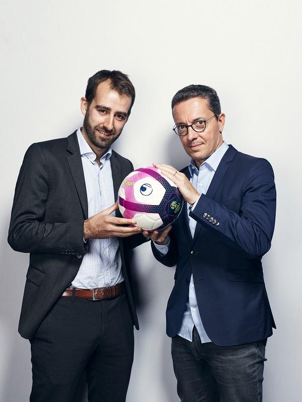 Grégoire Potton et Jacques-Henri Eyraud, interviewés par  Émile  (crédit : Manuel Braun)