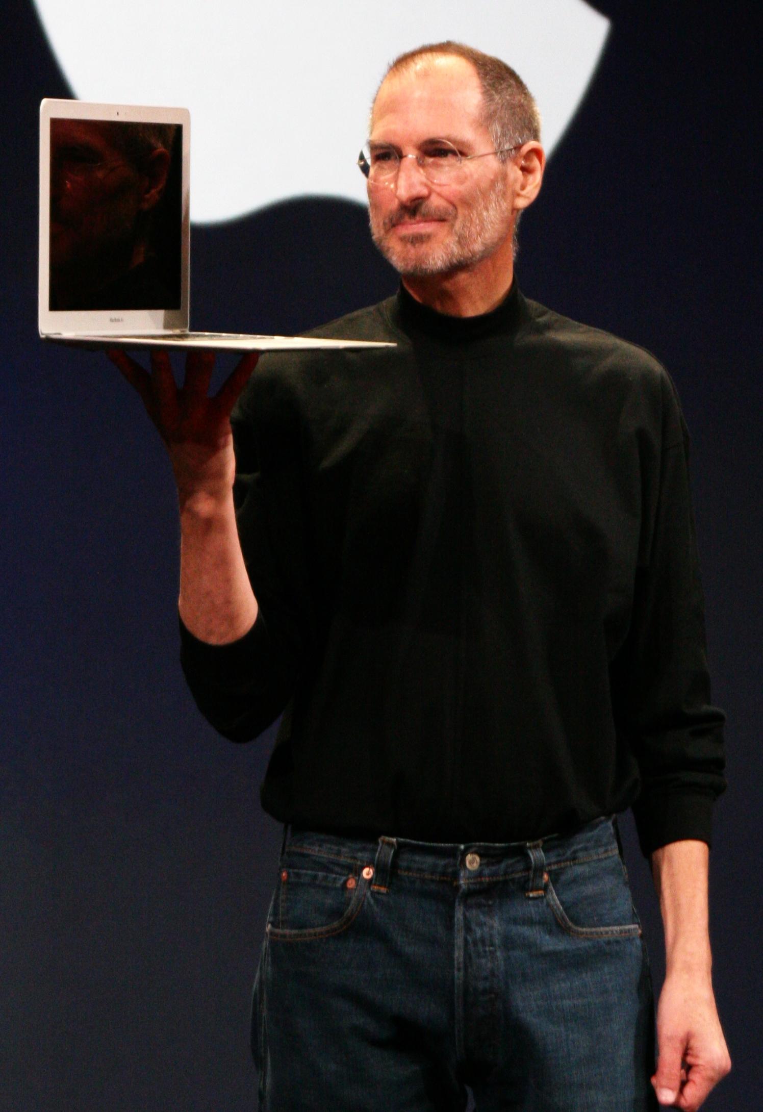 Steve Jobs, fondateur d'Apple.