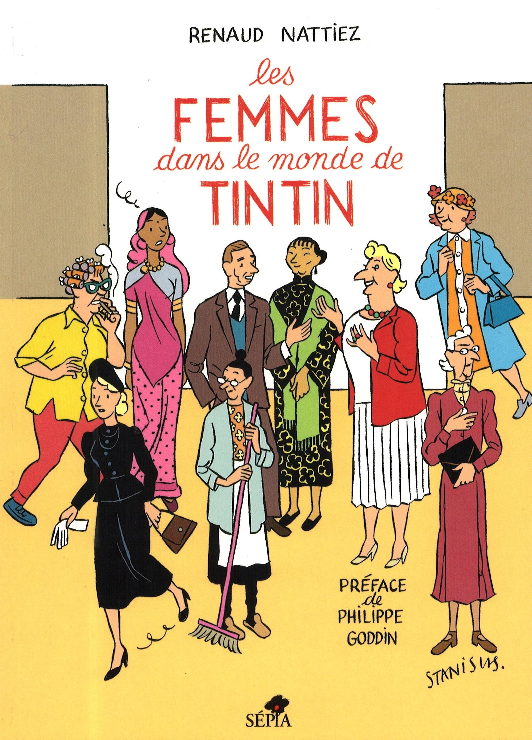 Les+femmes+dans+le+monde+de+Tintin