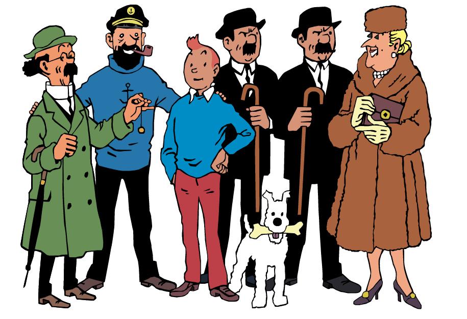 Tintin et ses compagnons