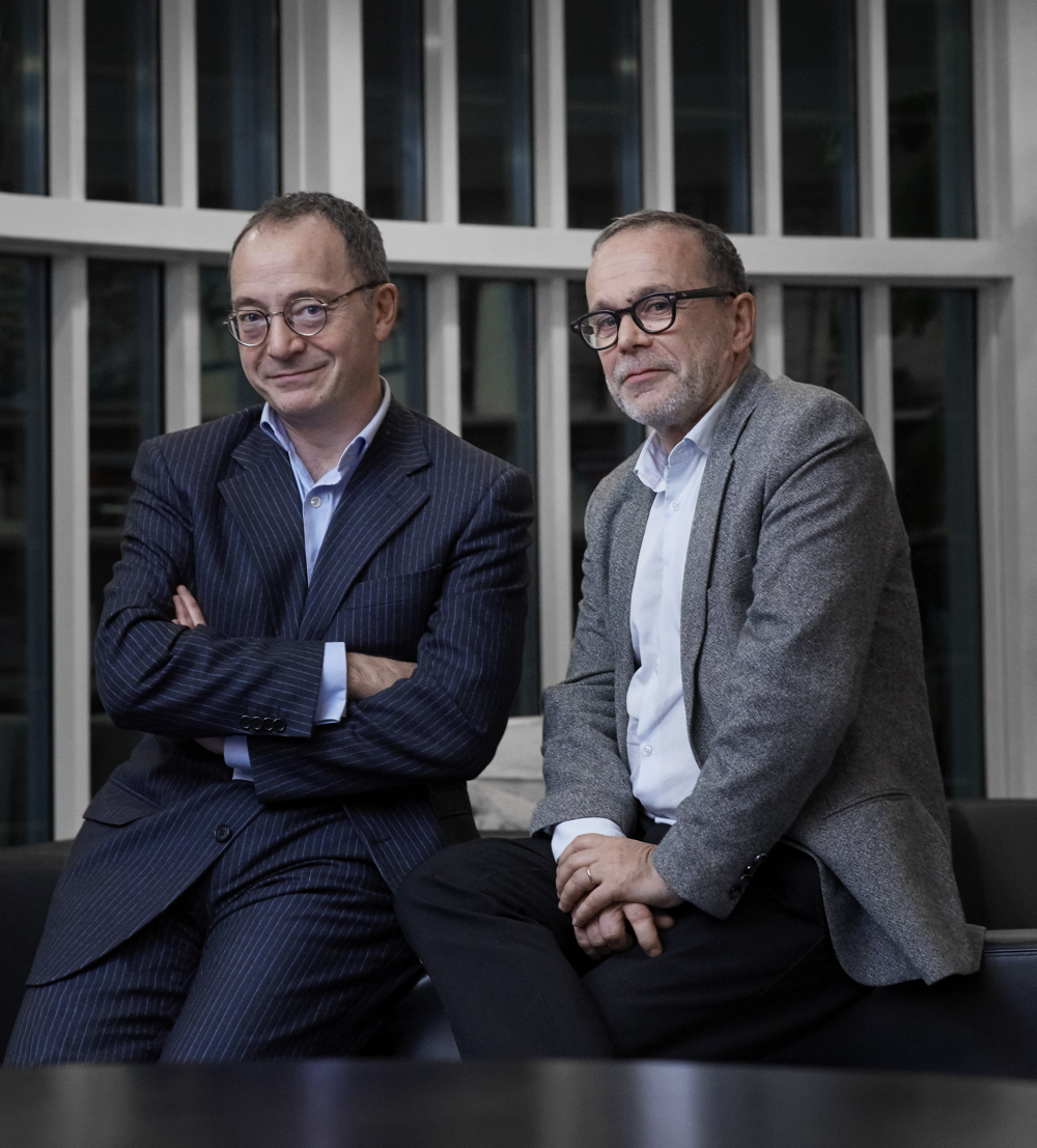 Jean-Philippe Thiellay & Olivier Lombardie - Photo : Aglaé Bory