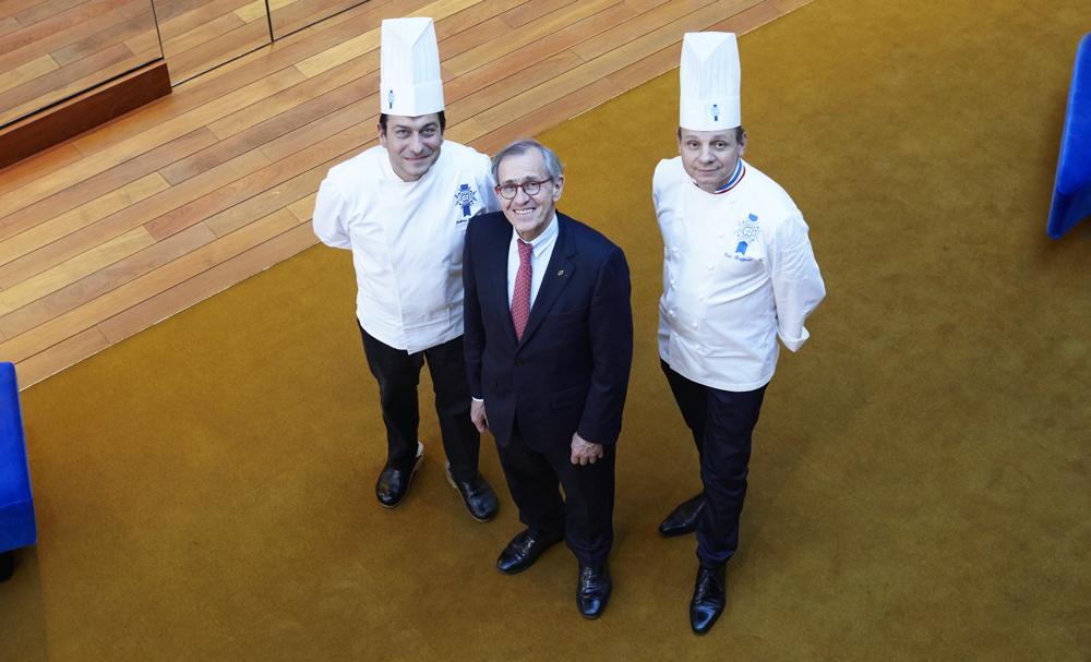 André Cointreau, Éric Briffard (à dr.) & Fabrice Danniel (à g.) © Aglaé Bory