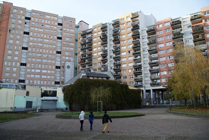 Quartier de la Villeneuve. Crédits photo : Matthieu Desmoulins
