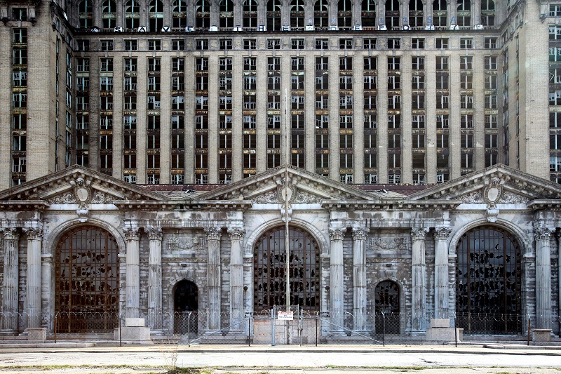 The Michigan Central Depot in Detroit. © Shutterstock