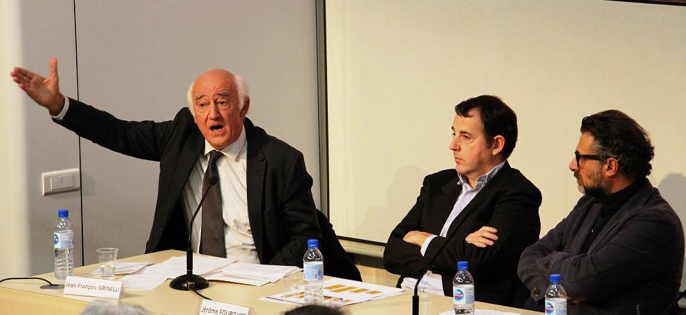 Jean-François Sirinelli, Jérôme Fourquet et David Abiker.