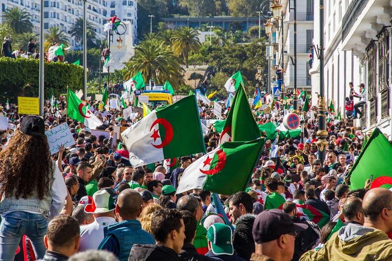 Manifestation à Alger - 15 mars 2019 Crédits photo : Shutterstock/Saddek Hamlaoui
