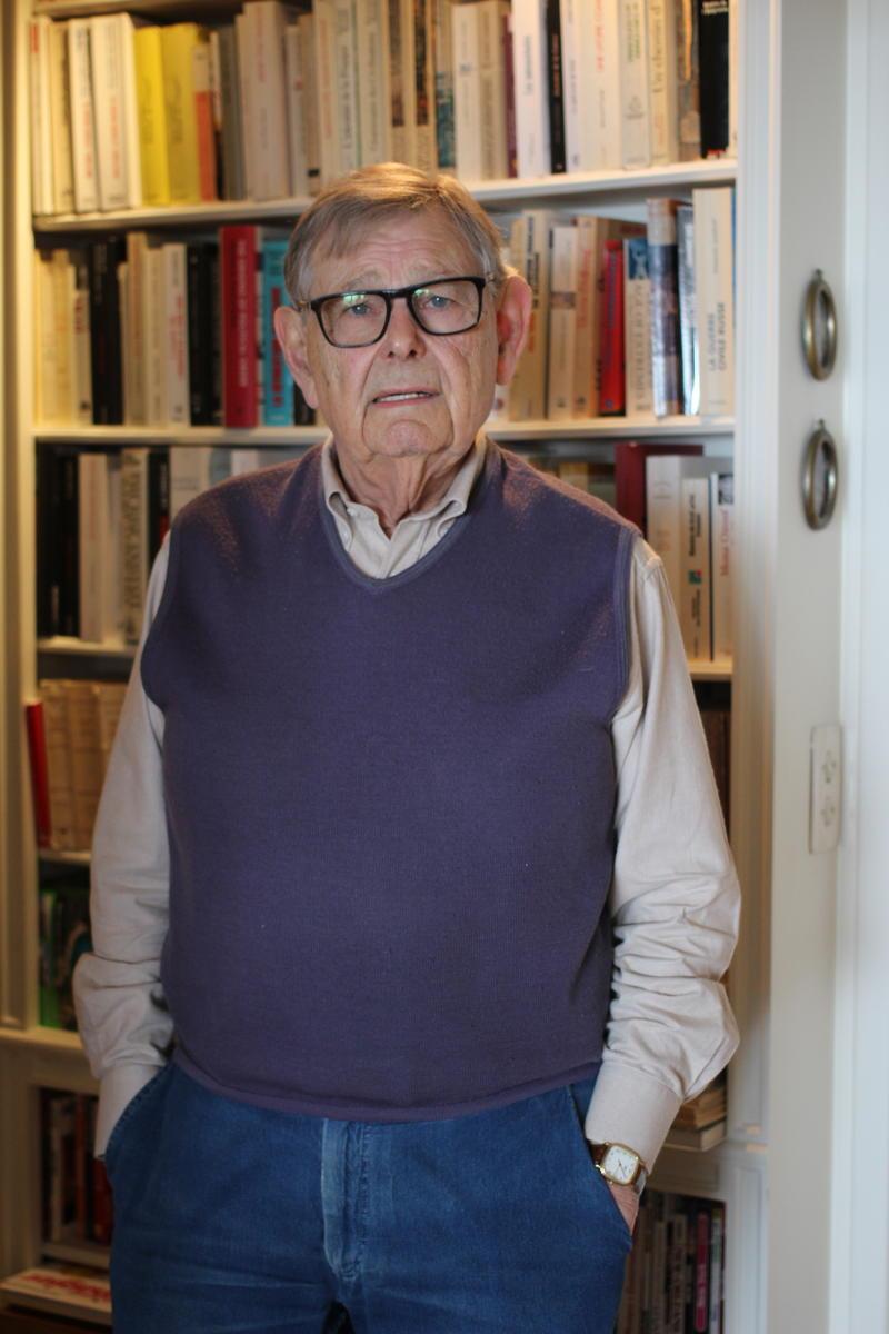 Guy Hermet. Crédits photo : Elisabetta Lamanuzzi