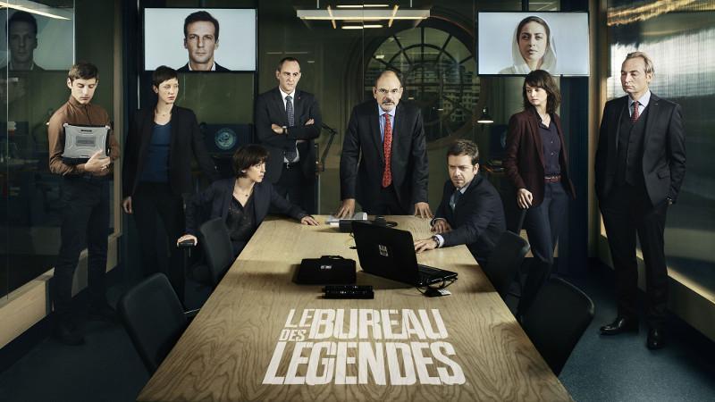 Affiche de la série  Le bureau des légendes .