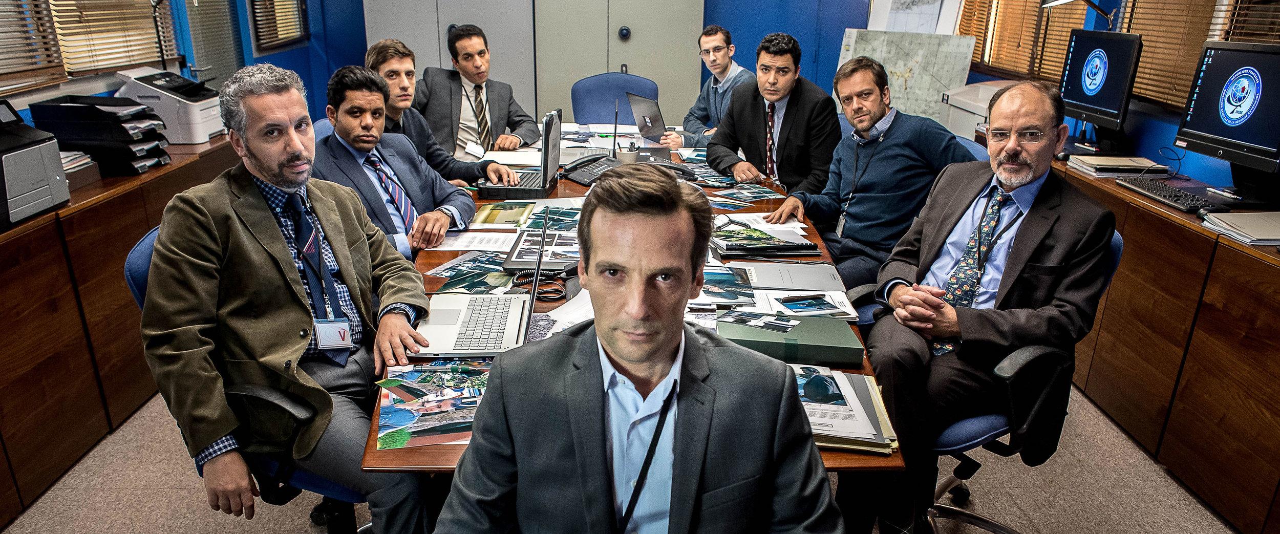 Le Bureau des légendes,  une série d'Éric Rochant.