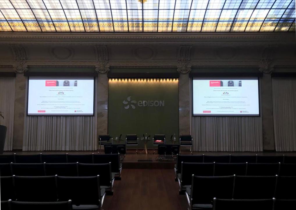 La salle du Palais Edison. (DR)