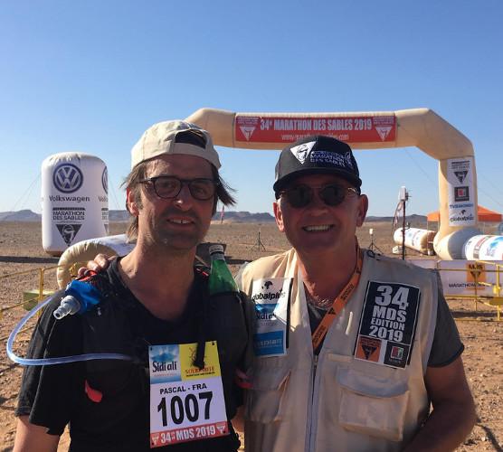 Pascal Perzo (à gauche) et Patrick Bauer (à droite), lors de la 34ème édition du MDS. Crédit photo : Pascal Perzo