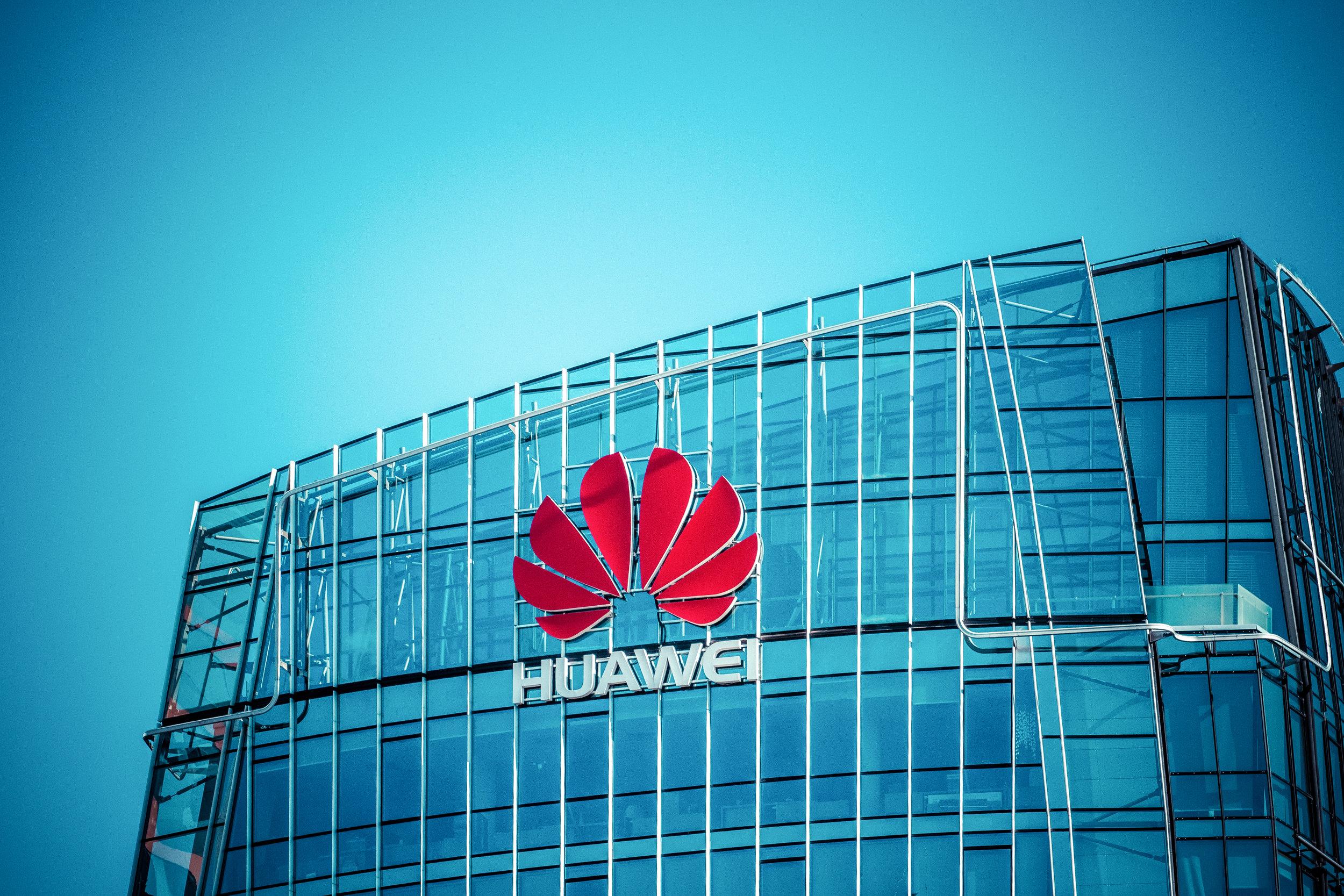 Le siège de Huawei Technologies à Vilnius. Crédit photo : Shutterstock