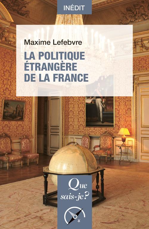 IMG couverture - La politique étrangère de la France.jpg