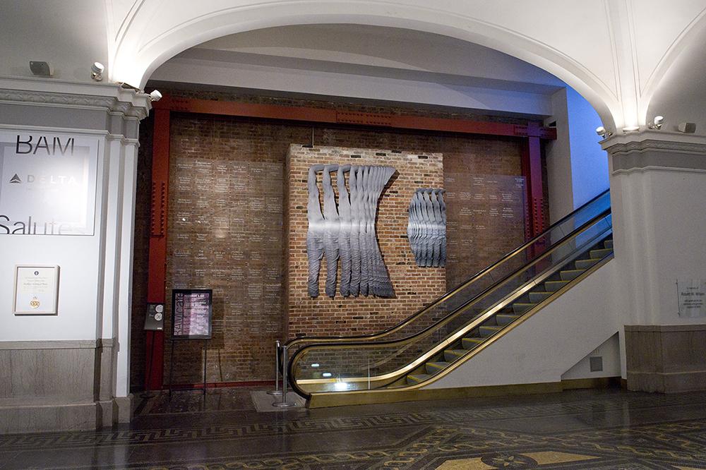 Installation View -Brooklyn Academy of Music,Brooklyn, New York