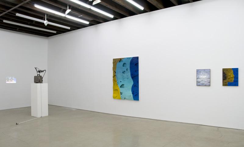 Installation View: WE PLAY AT PASTE, Anthea Hamilton, Tamara Henderson, Lucy Kim, Ella Kruglyanskaya, and Alan Reid