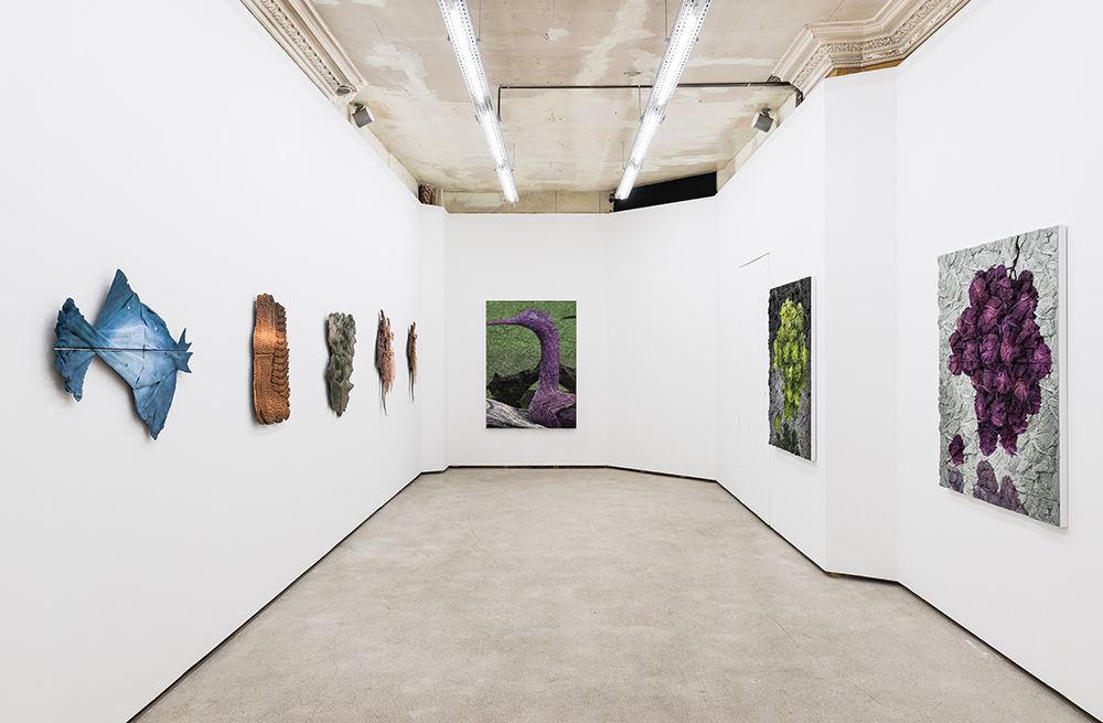 Installation view - STUBBORN DOUBLES, Galerie Pact, Paris  Photo: Gregory Copitet