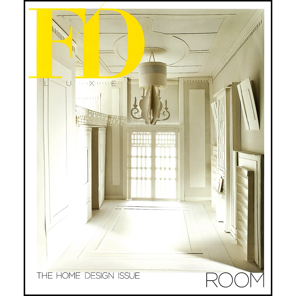 FD LUXE LUXURY LIFESTYLE MAGAZINE  • MAY 2013  THE HOME DESIGN ISSUE: THE ENVY OF EMPRESSES EVERYWHERE ARTICLE