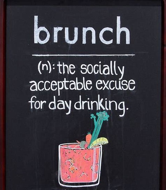 Well duh! Fire pits and front porch are wide open for outdoor seating so come on by and enjoy our featured Breakfast Risotto with one of our signature cocktails! #brunchsohard #sundayfunday #mimosas