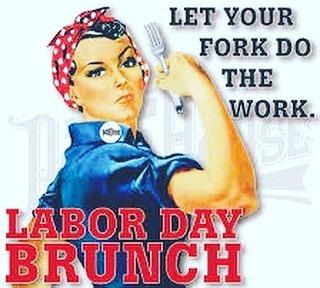 ***NEWS FLASH*** We will be OPEN, Monday, September 3 @ 9am for Labor Day Brunch!! #hottunavb #shoredrivevb #brunch #locallove