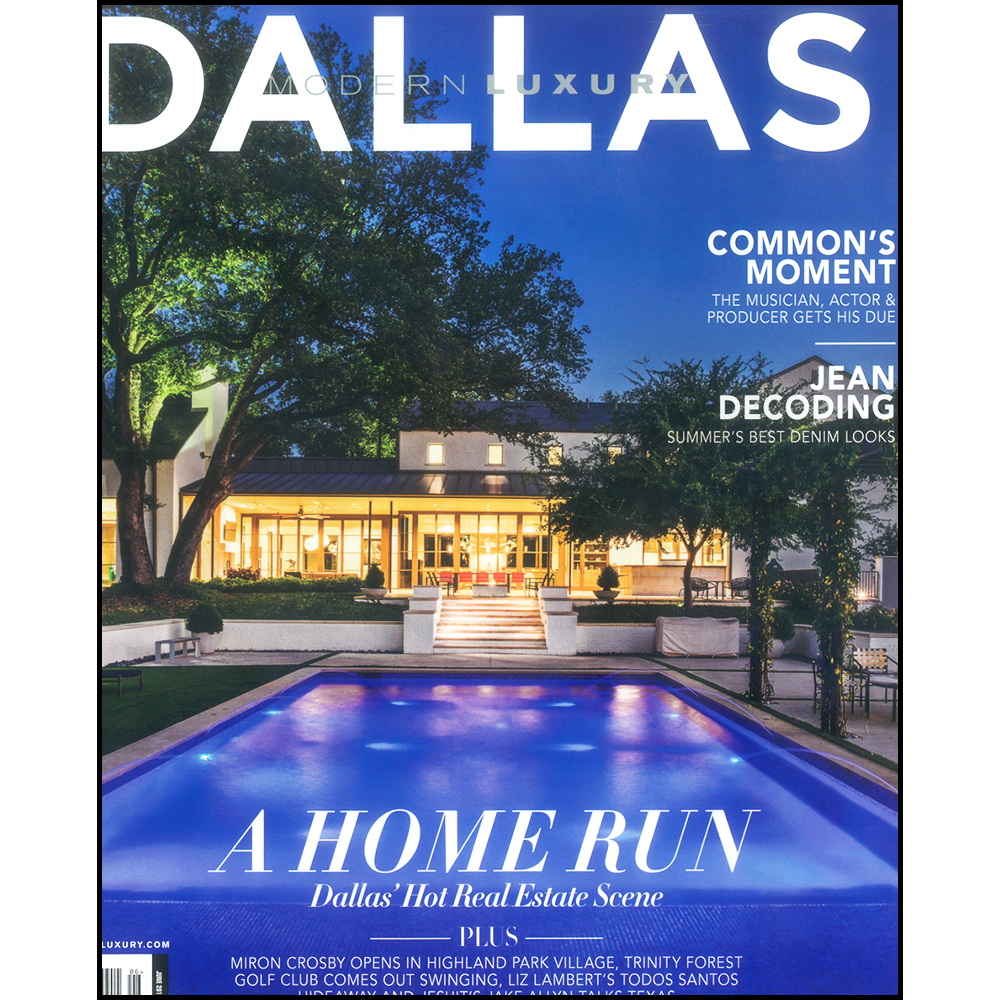 MODERN LUXURY DALLAS MAGAZINE  •JUNE 2017  READY, SET, STAGE!ARTICLE   >> LEARN MORE ABOUT   WATERSIDE HOME MAINTENANCE CONCIERGE