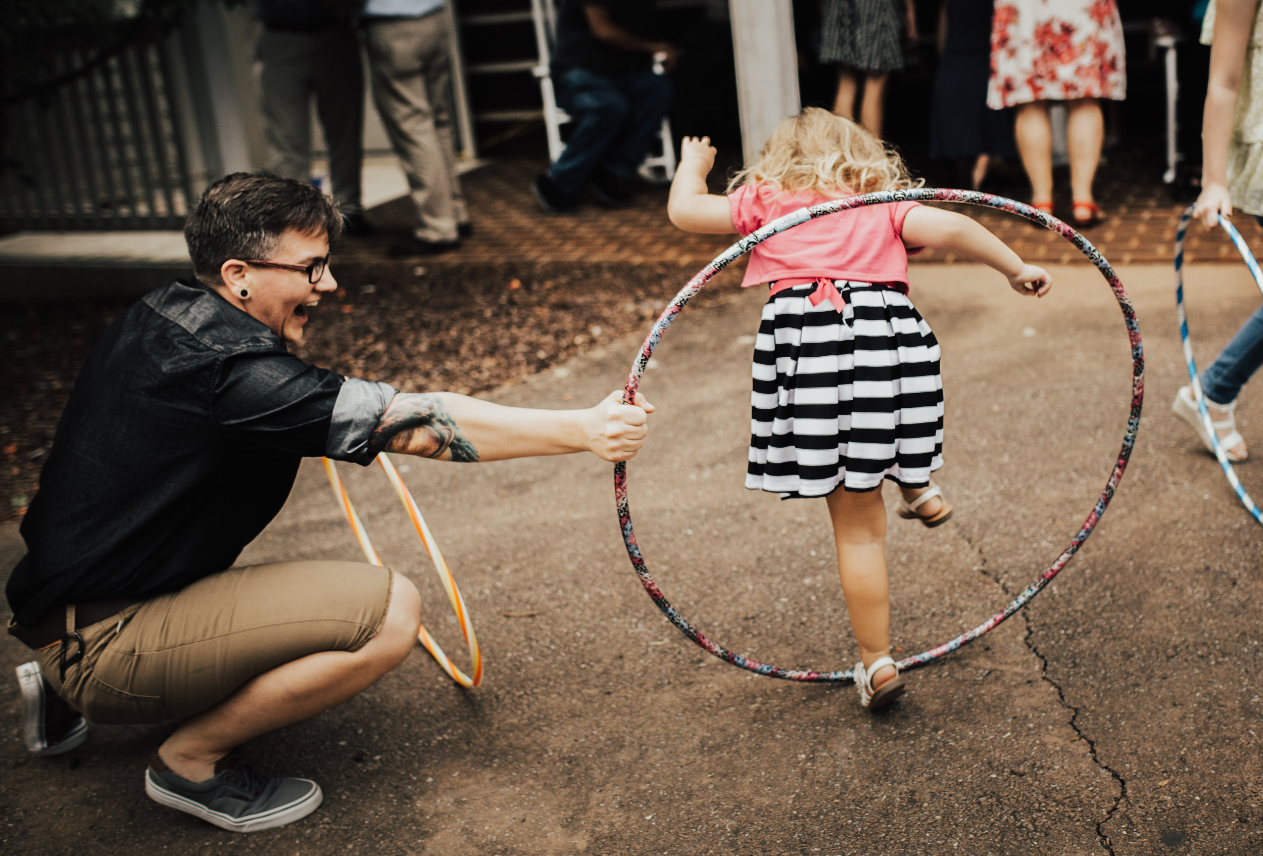 No party is complete without a little bit of hula hoop fun!
