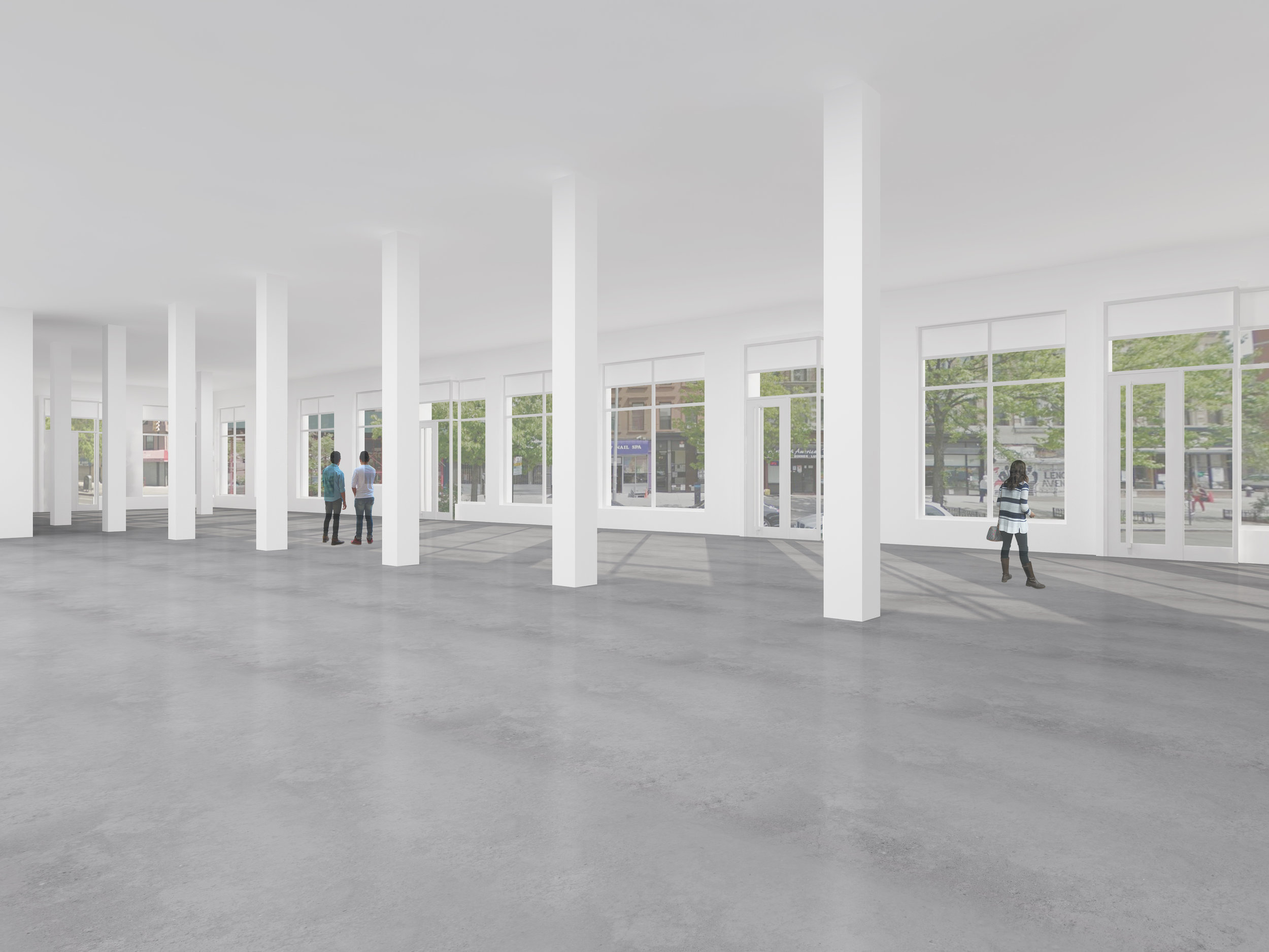First Floor Commercial Space