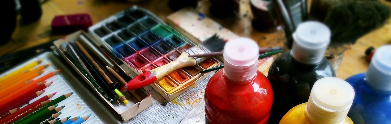 Creative supplies opened a new world of fun, play, experimentation and freedom for me.