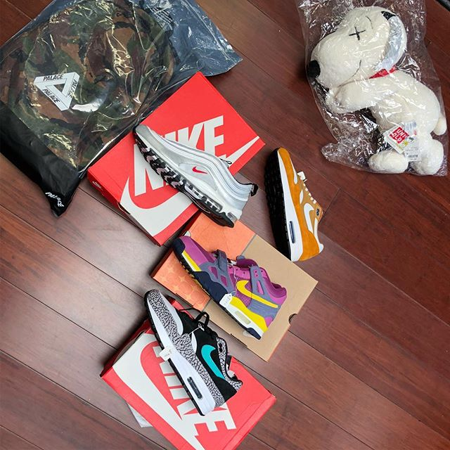 New goods. Sz 10.5-11.5 variety. First come first serve. All DS #dreamteamsf