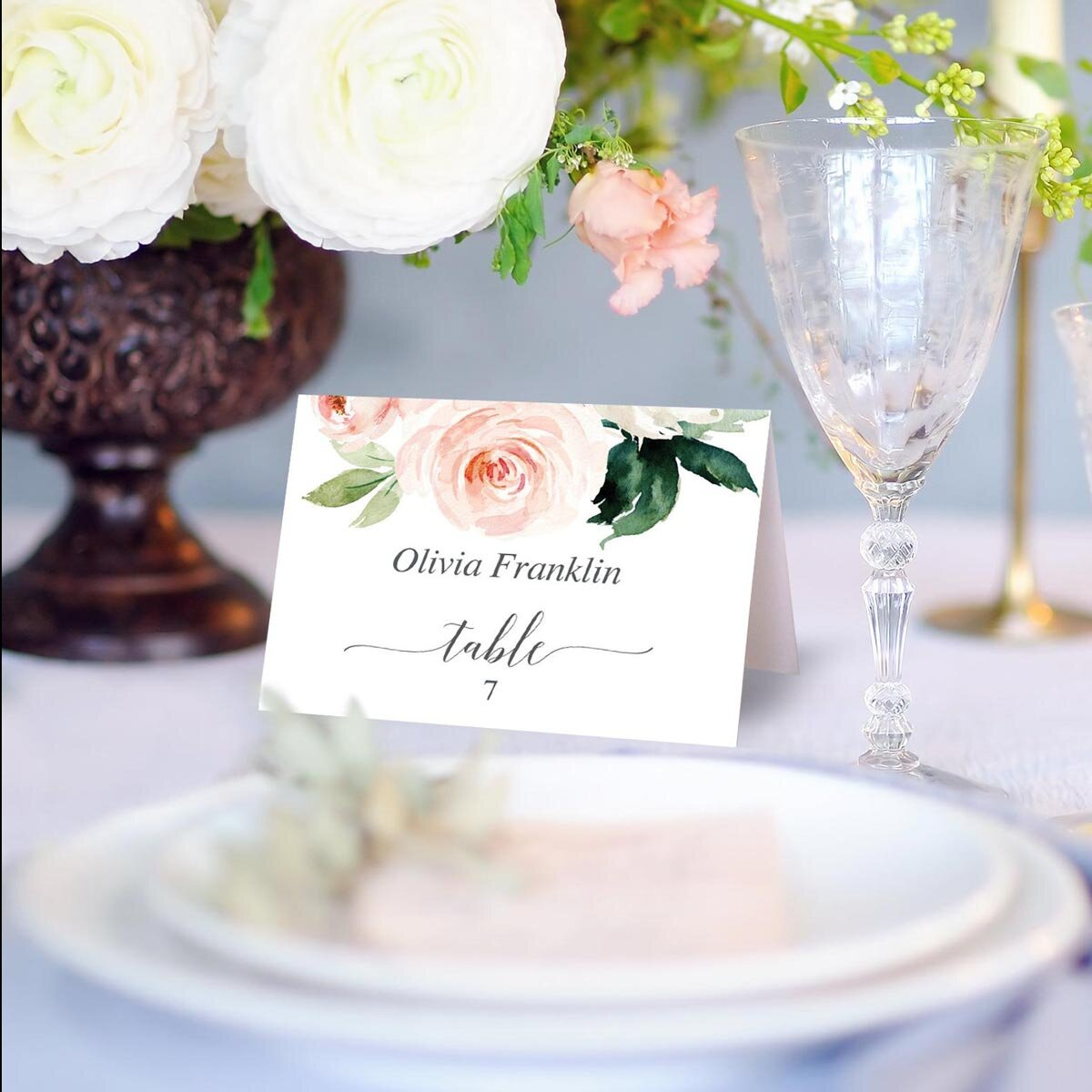 It is a picture of Printable Wedding Place Cards inside marble