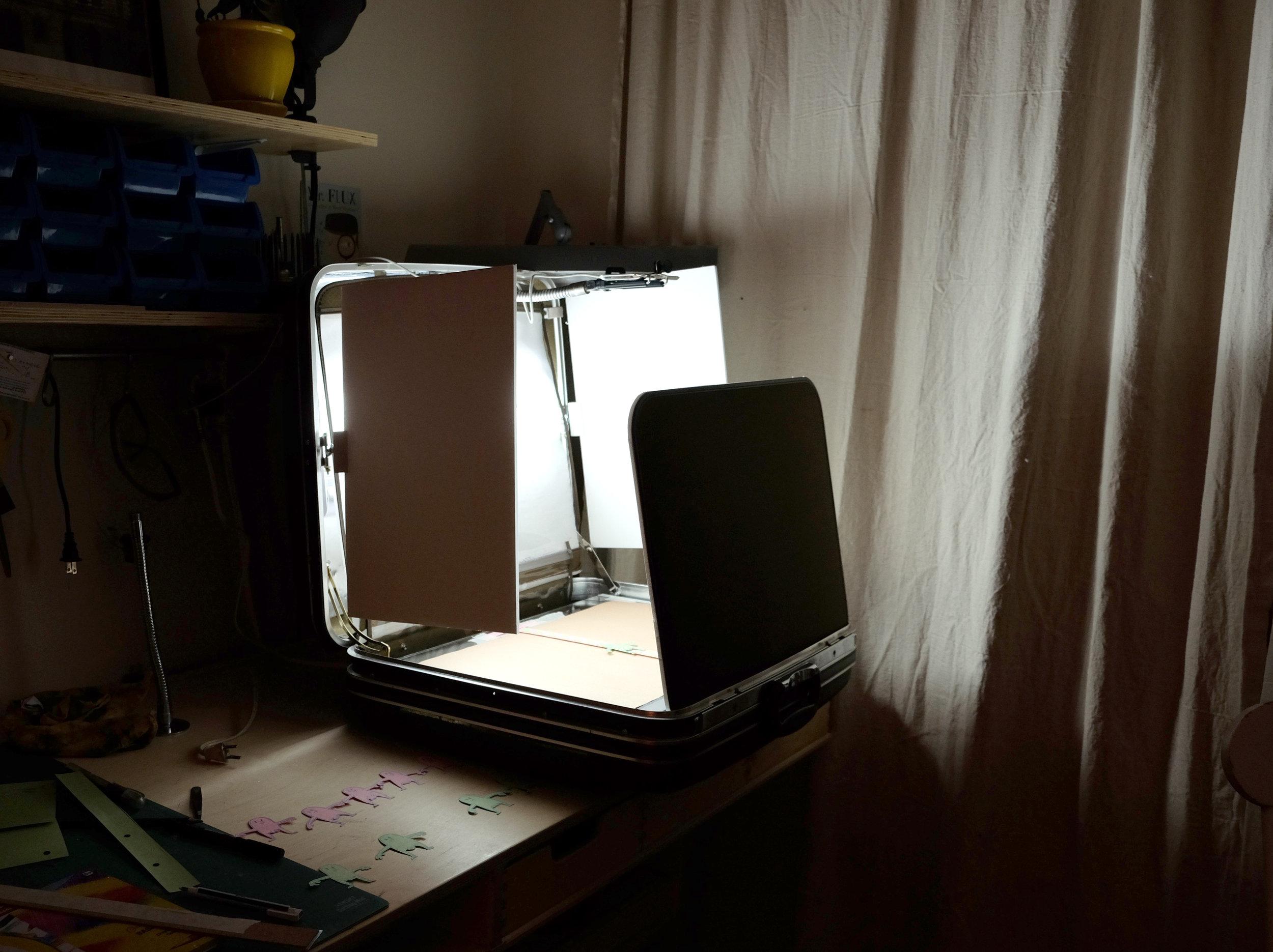 Studio portatif