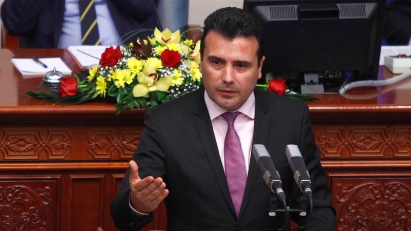 Zoran Zaev, the newly elected Prime Minister of Macedonia. ||Ognen Teofilovski, Reuters