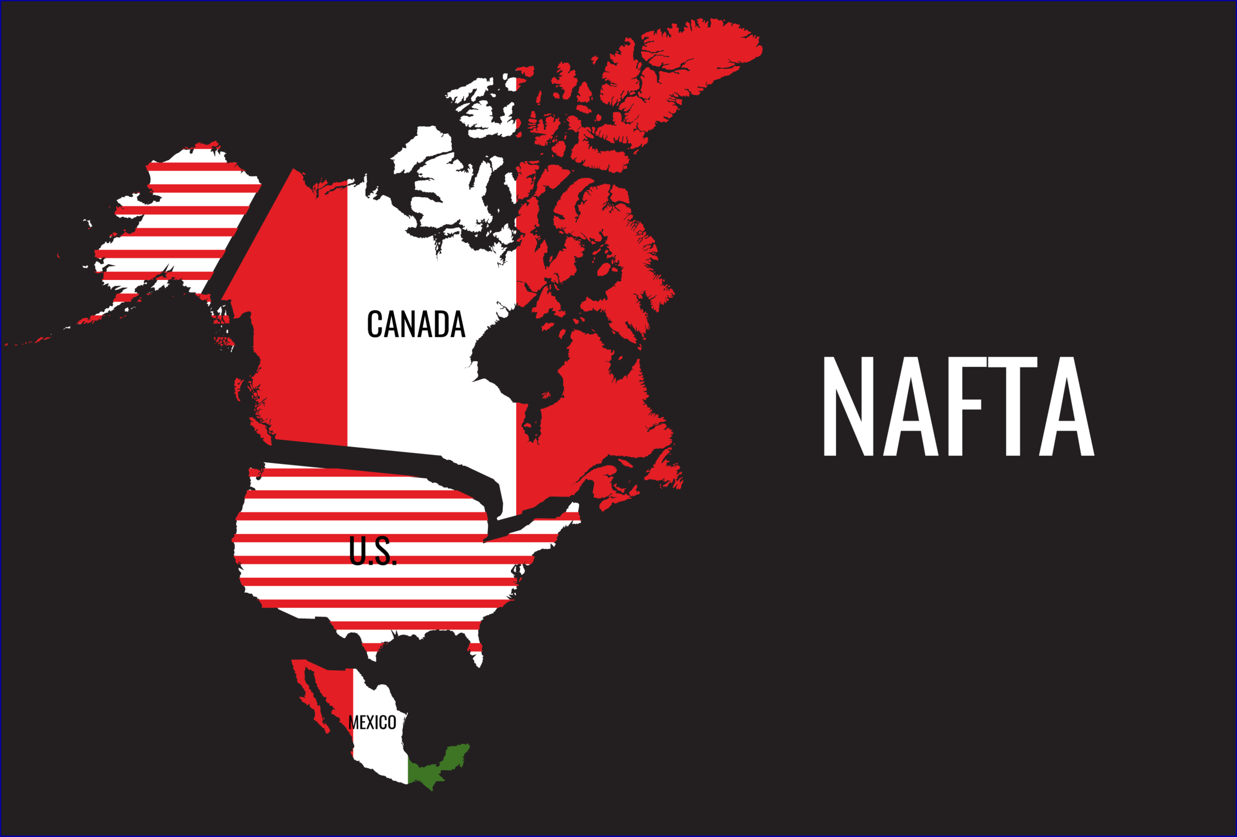 Members of the North American Free Trade Agreement. || Sourcing Journal.
