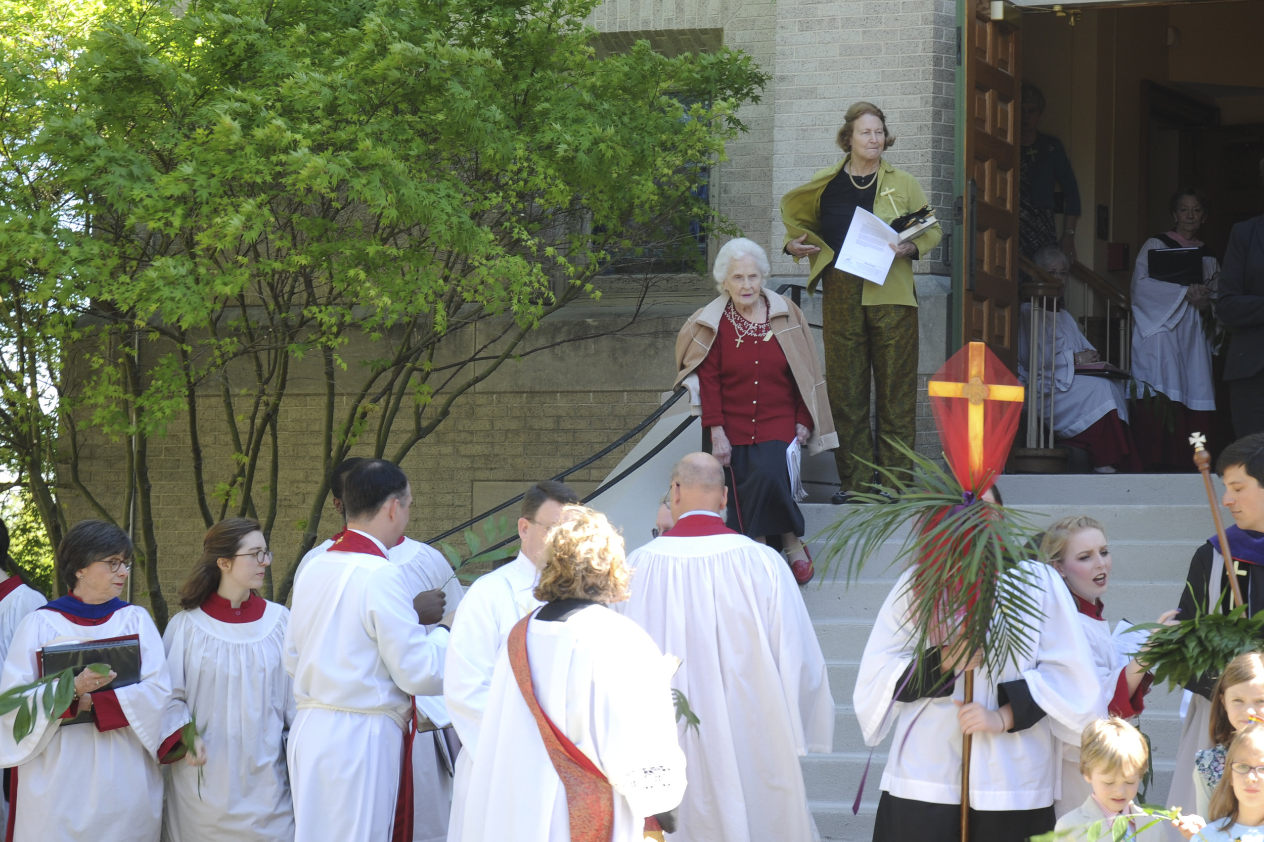 Palm Sunday Procession - April 9, 2017