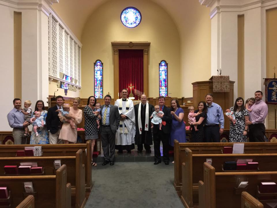 Blessing of the Infants - May 14, 2017