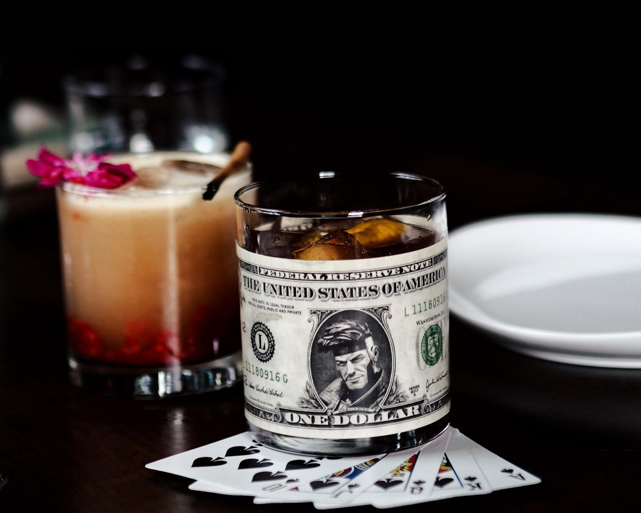 Le Diable Blanc : J.P. Wiser's Double Still Rye, Remy Martin VSOP, Dubbonet, Bénédictine, Byrrh, Fino Sherry, Creole Bitters ($19.00 + tax)