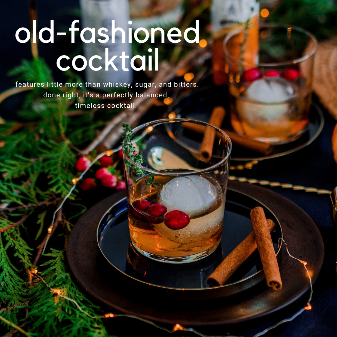 recipe: cranberry old fashioned cocktail. - served since the mid-1800's, this seasonal twist is the perfect drink to sip on to embrace the transition into cooler weather and the approaching holiday season, enhanced by bartenders' essential ingredient - ANGOSTURA® orange bitters.