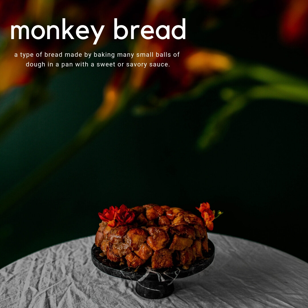 in the kitchen: monkey bread - Ready in 15 minutes, this quick and easy monkey bread is going to be the conversation piece at your Thanksgiving or Friendsgiving dinner table!