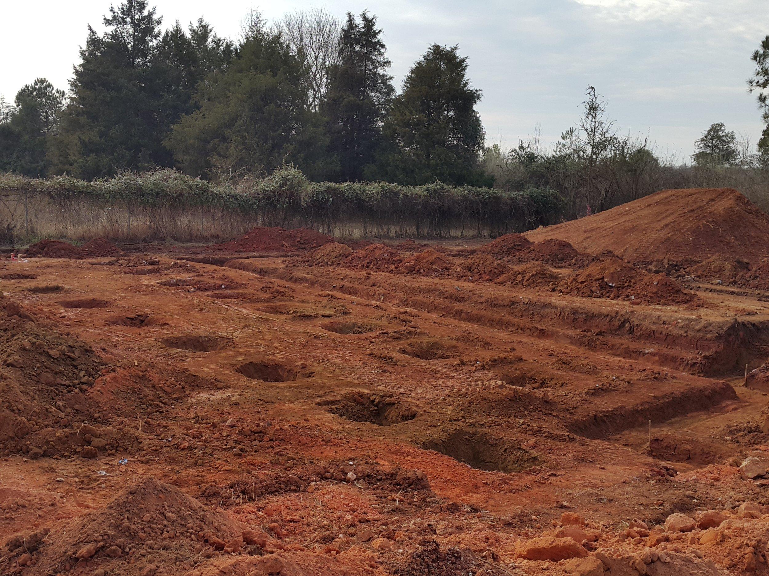 Some crazy archeological dig site