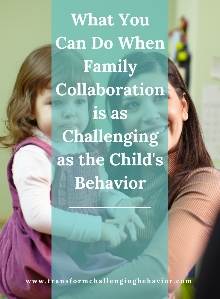 Family Collaboration - Early Childhood