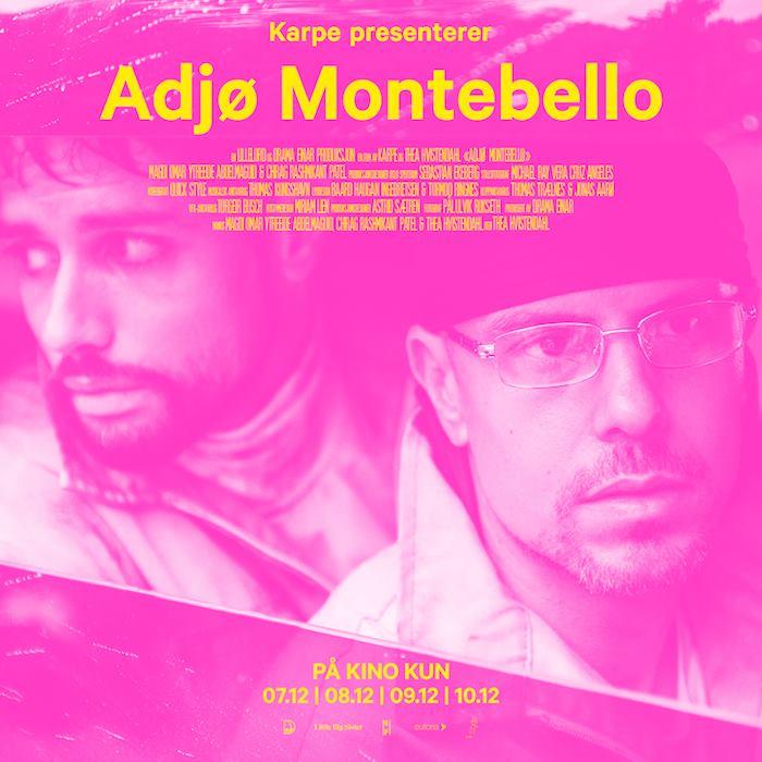 Karpe på kino - Karpe Diem tar farvel med Montebello på kino, og du har kun fire dager på deg!Billetter og info ➝