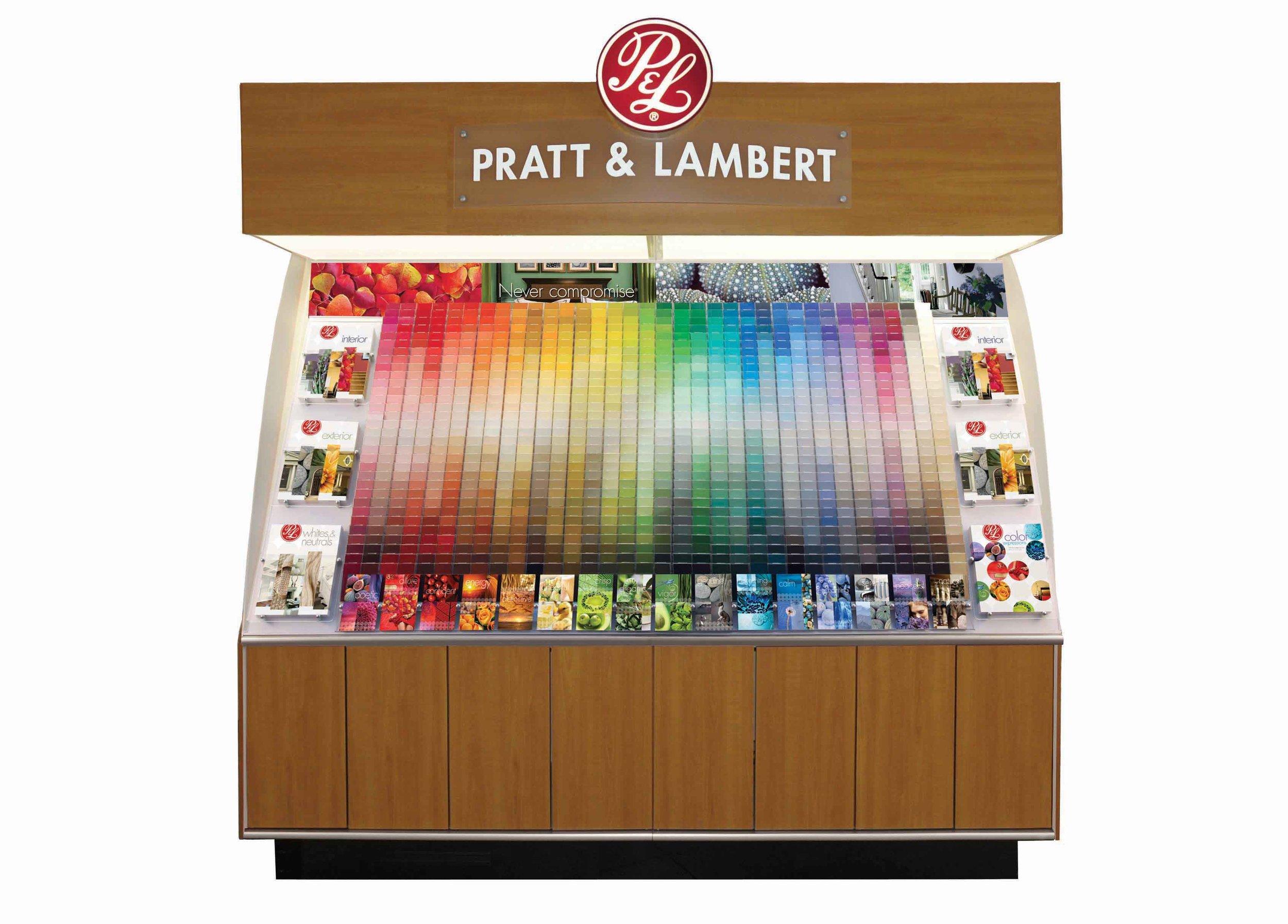 Pratt & Lambert Paint Color System