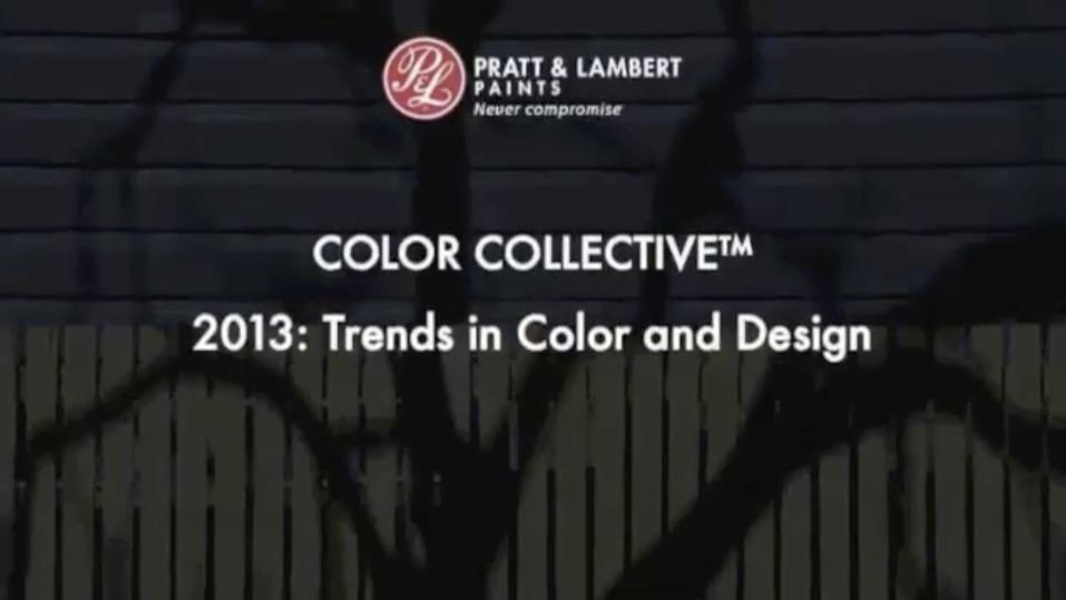 Pratt & Lambert Color Forecast 2013