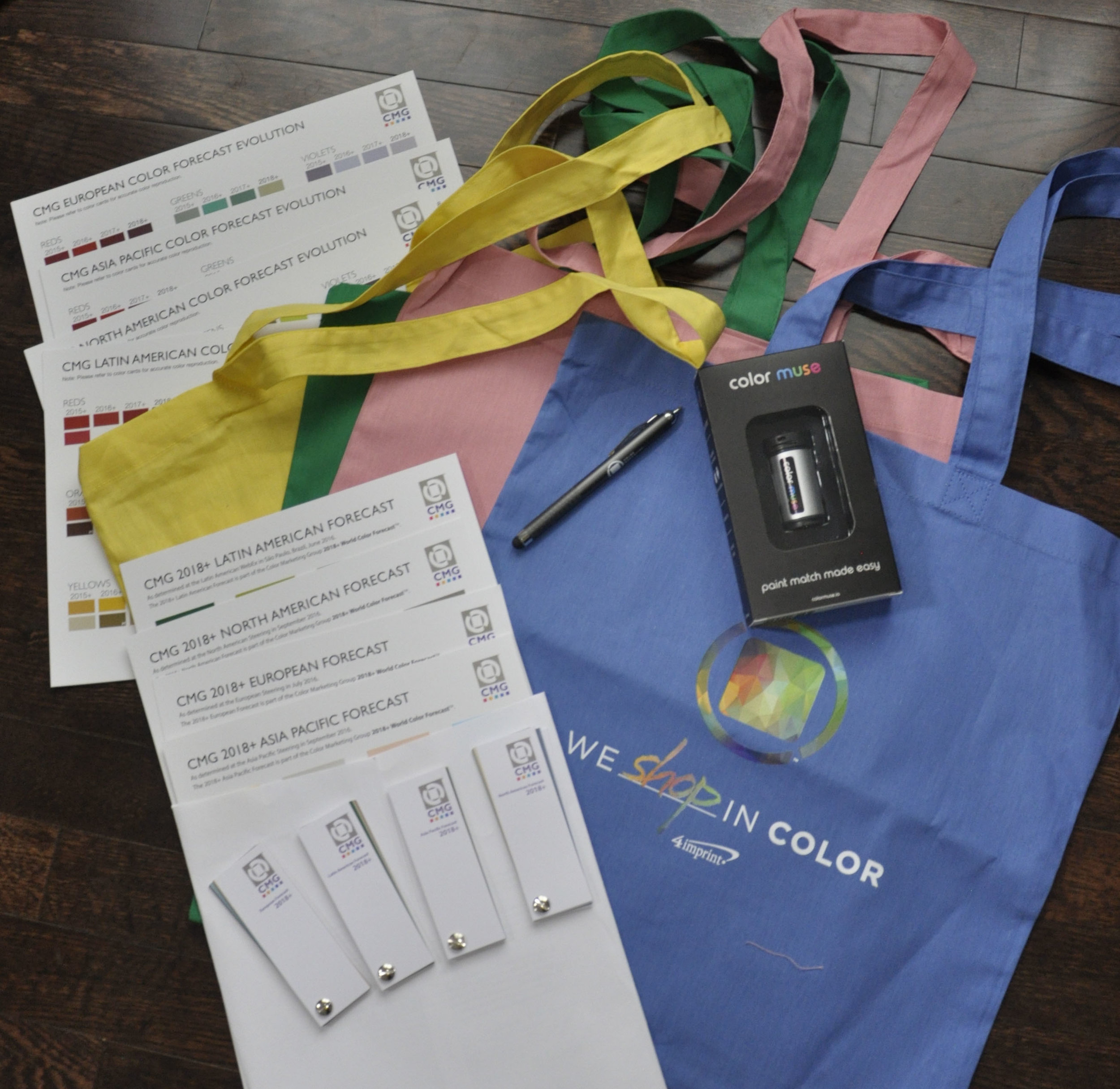 Check out all the stuff the CMG 2016 International Summit attendees received this year!